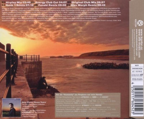 Bild 2: ATB, Humanity (2005)