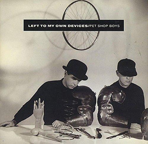 Bild 1: Pet Shop Boys, Left to my own devices (1988, UK, cardsleeve)