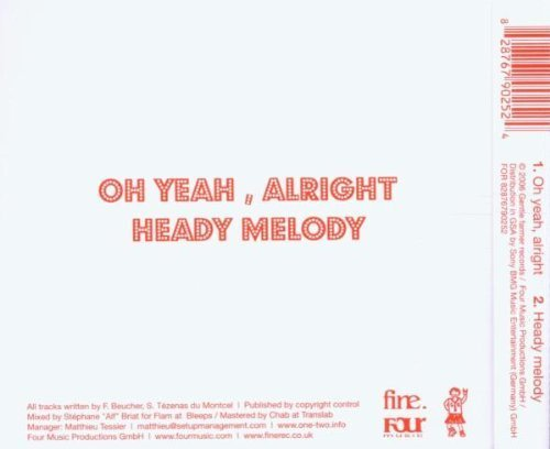 Bild 2: One-Two, Oh yeah, alright (2 tracks, 2006)