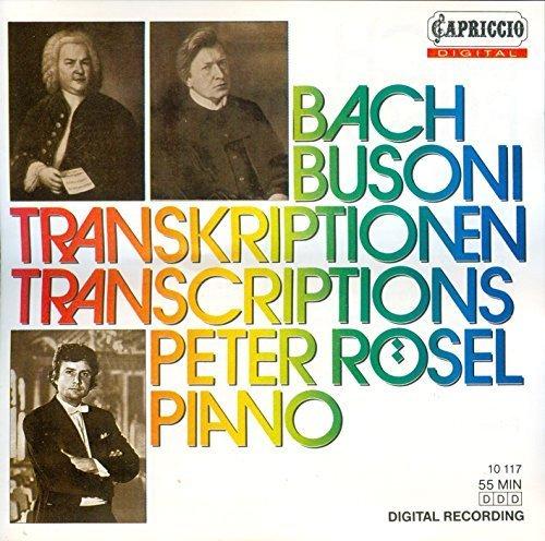 Bild 1: Bach, Busoni Transkriptionen (Capriccio, 1987) Peter Rösel