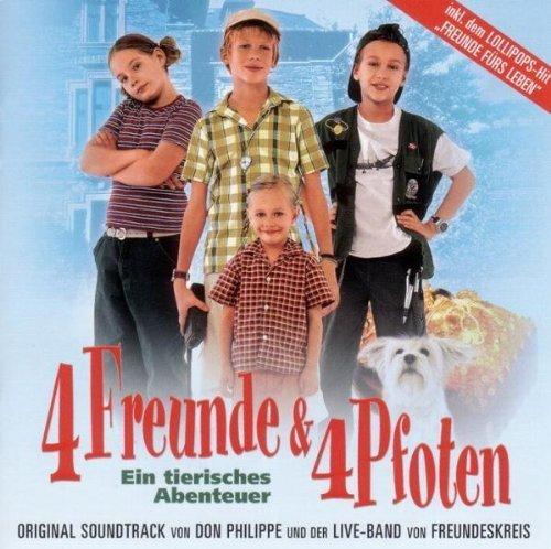 Bild 1: 4 Freunde & 4 Pfoten (2003), Don Philippe, Live-Band von Freundeskreis