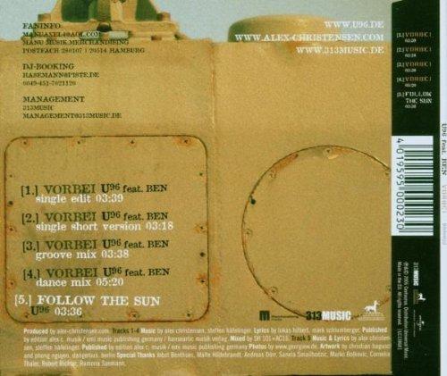 Bild 2: U96, Vorbei (2006, feat. Ben)