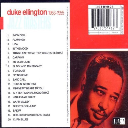Bild 2: Duke Ellington, Jazz masters 1953-1955 (20 tracks)