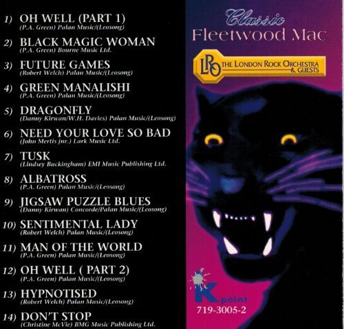 Bild 4: Fleetwood Mac, Classic (performed by London Rock Orch., 1993)