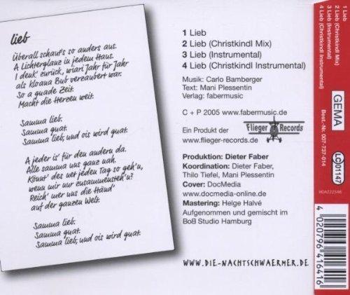 Bild 2: Nachtschwärmer, Lieb (2005)