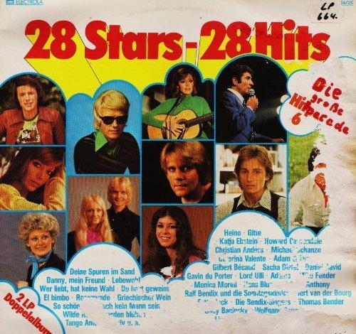 Bild 1: 28 Stars-28 Hits-Die große Hitparade 6, Heino, Gitte, Howard Carpendale, Christian Anders, Katja Ebstein..