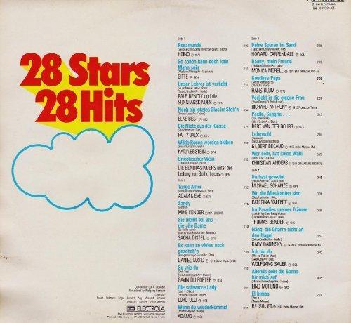 Bild 2: 28 Stars-28 Hits-Die große Hitparade 6, Heino, Gitte, Howard Carpendale, Christian Anders, Katja Ebstein..