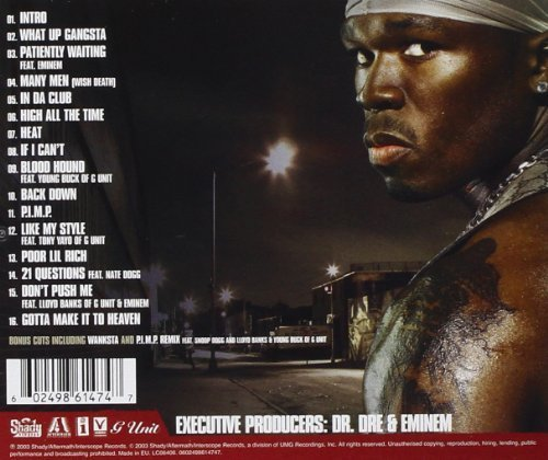 Фото 2: 50 Cent, Get rich or die tryin' (2003, #9861474)