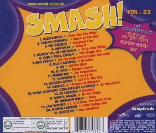 Bild 2: Smash! 23 (2003), Alexander, Sarah Connor, Buddy vs. DJ the Wave, One-T feat. Cool-T, Gareth Gates, DJ Tomekk, Jan Wayne..