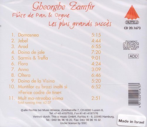 Bild 2: Gheorghe Zamfir, Les plus grands succès (11 tracks, 1994)