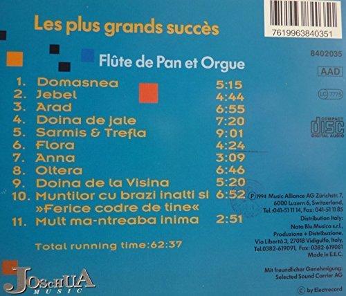 Bild 4: Gheorghe Zamfir, Les plus grands succès (11 tracks, 1994)