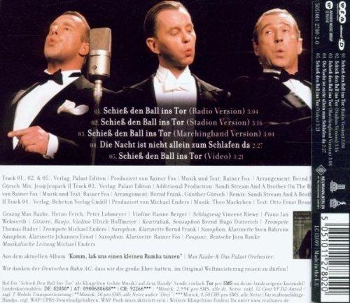 Bild 2: Max Raabe, Schieß den Ball ins Tor (2006, & Heino Ferch, Peter Lohmeyer & Das Palast Orchester)