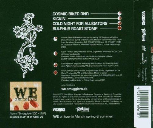 Bild 2: We, Cosmic biker r'n'r (2006)