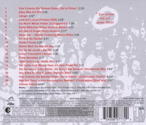 Image 2: Höhner, Da simmer dabei!-Die grössten Partyhits (21 tracks, 2004)