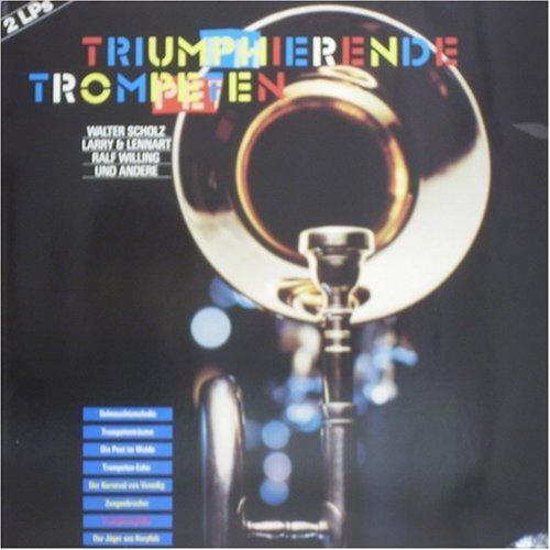 Bild 1: Triumphierende Trompeten (1988), Walter Scholz, Larry & Lennart, Ralf Willing, Ernst Mosch, Alpenoberkrainer, Slavko Avsenik..
