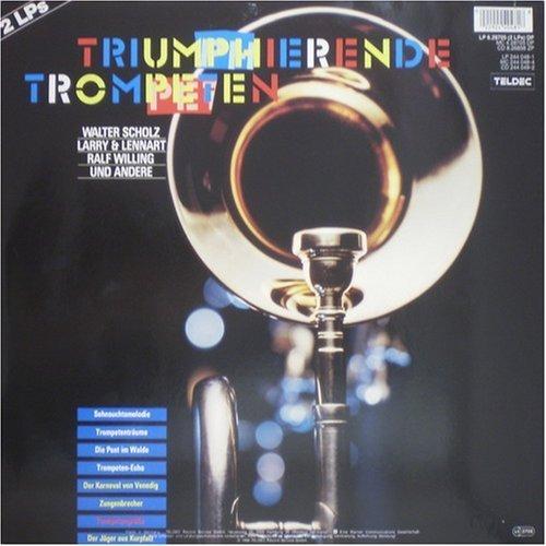Bild 2: Triumphierende Trompeten (1988), Walter Scholz, Larry & Lennart, Ralf Willing, Ernst Mosch, Alpenoberkrainer, Slavko Avsenik..