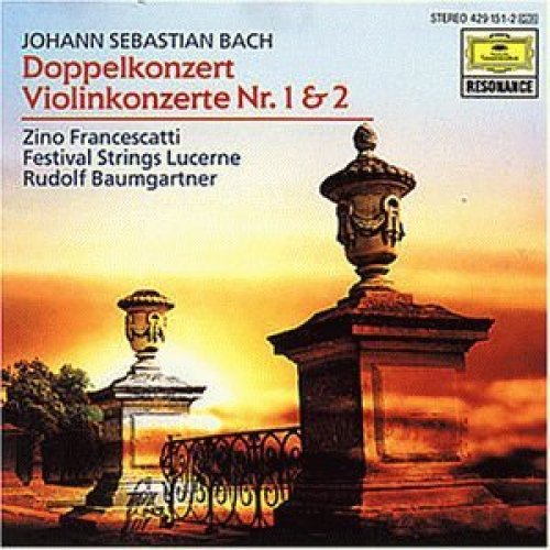 Bild 1: Bach, Doppelkonzert, BWV1043/Violinkonzerte Nr.1&2, BWV 1041/42 (1972) (Festival Strings Lucerne/Rudolf Baumgartner, feat. Zino Francescatti)