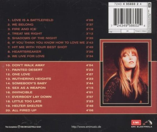 Bild 2: Pat Benatar, Premium gold collection (20 tracks, 1998, EMI)