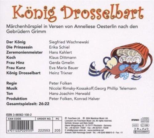 Bild 2: Brüder Grimm, König Drosselbart-Märchenhörspiel in Versen von Anneliese Oesterlin