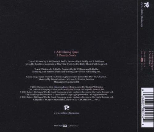 Bild 2: Robbie Williams, Advertising space (2005; 2 tracks)