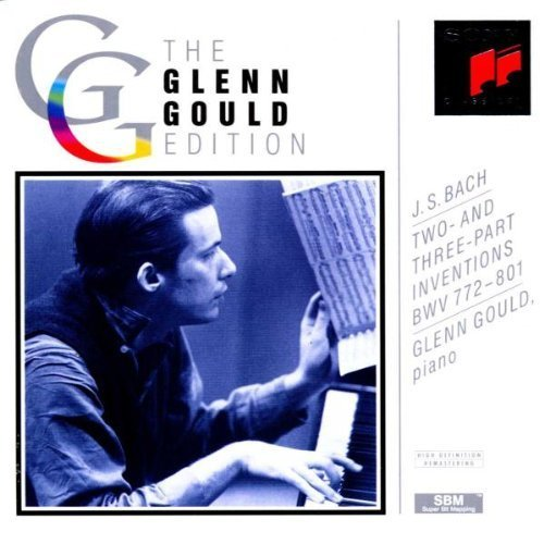 Bild 1: Bach, Two- and three-part inventions, BWV 772-801 (Sony, 1966) (Glenn Gould)