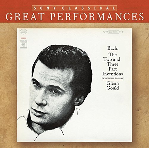 Bild 3: Bach, Two- and three-part inventions, BWV 772-801 (Sony, 1966) (Glenn Gould)