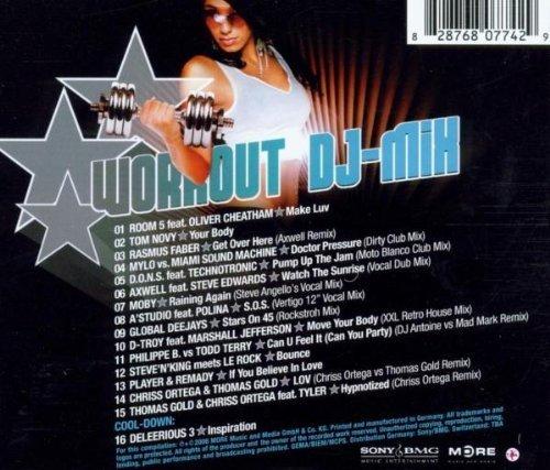 Bild 2: Workout DJ-Mix 1 (2006), Room 5 feat. Oliver Cheatham, Tom Novy, Mylo vs. Miami Sound Machine, Moby, Global Deejays..