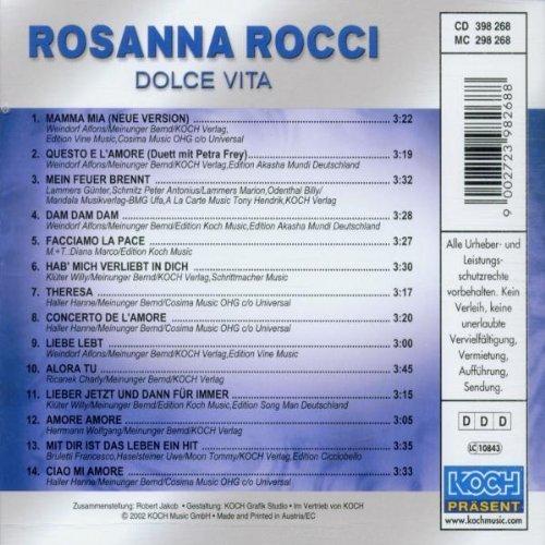 Bild 2: Rosanna Rocci, Dolce vita (compilation, 14 tracks, 2002)