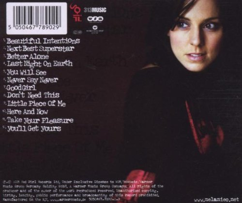 Bild 3: Melanie C, Beautiful intentions (2005)
