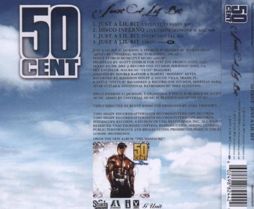 Bild 2: 50 Cent, Just a lil bit (2005)