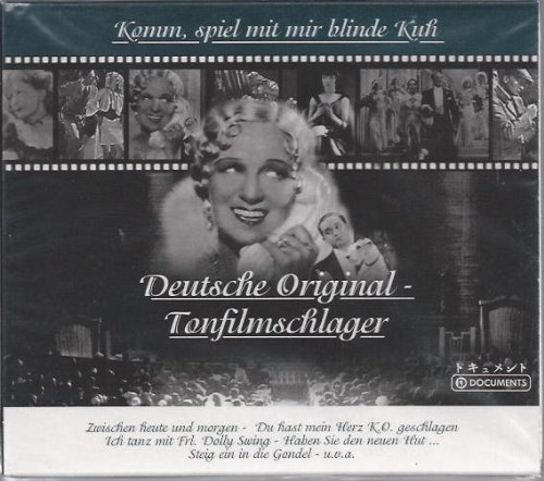 Bild 1: Deutsche Original-Tonfilmschlager, Komm, spiel mit mir blinde Kuh: Willi Forst, Greta Keller..