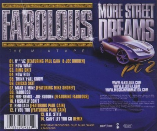 Bild 3: Fabolous, More street dreams pt.2-The mixtape (2003)