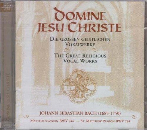 Bild 1: Bach, Matthäus-Passion, BWV244: Domine Jesu Christie (1941) (Gewandhausorchester Leipzig/Günther Ramin, feat. Karl Erb..)
