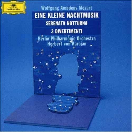 Bild 1: Mozart, Eine kleine Nachtmusik, KV525/Serenata notturna, KV239, Divertimenti, KV136-138/125a-c (DG, 1966/68) (Berliner Philharmoniker/Karajan)