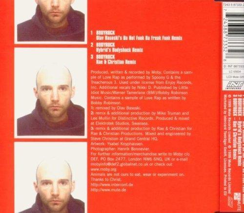 Bild 2: Moby, Bodyrock-CD2 (1999)