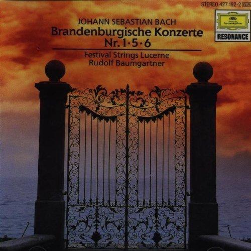 Bild 1: Bach, Brandenburgische Konzerte Nr. 1, 5, 6 (DG/Resonance, 1960) Festival Strings Lucerne/Baumgartner