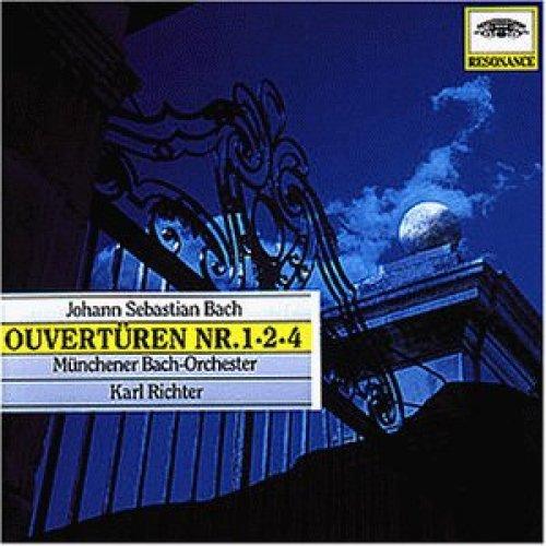 Bild 1: Bach, Ouvertüren Nr. 1-2-4 (1961) (Münchener Bach-Orchester/Karl Richter)