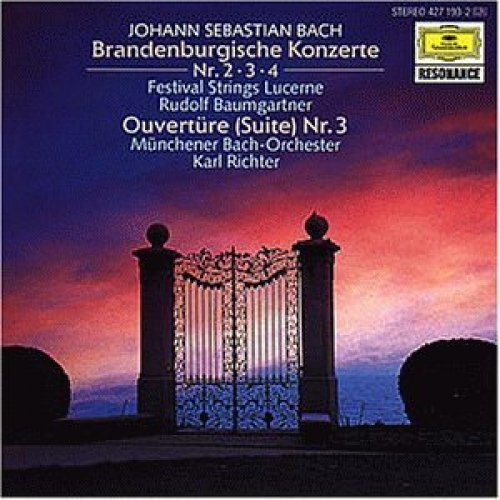 Bild 1: Bach, Brandenburgische Konzerte Nr. 2-4 (DG, 1960) (Festival Strings Lucerne/Baumgartner)
