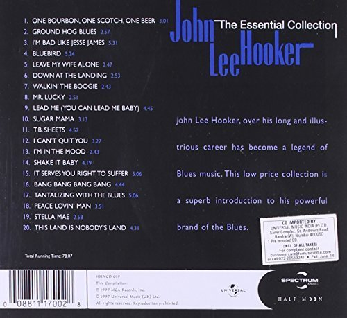 Bild 2: John Lee Hooker, Essential collection (20 tracks, 1997)