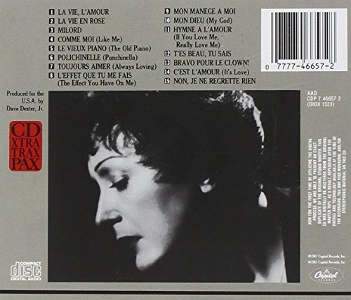 Bild 2: Edith Piaf, Very best of (1987, Capitol)