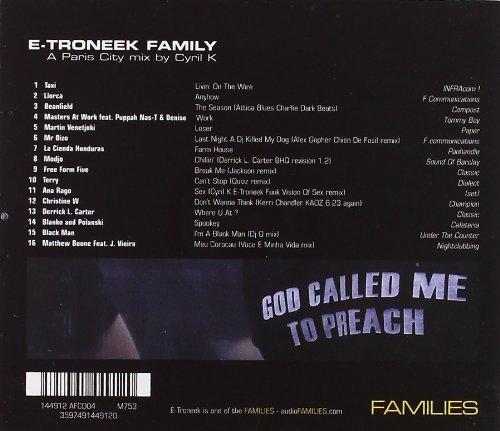 Bild 2: Cyril K, E-troneek family-A Paris City mix (2002)