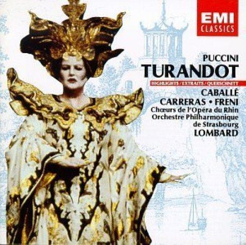 Bild 1: Puccini, Turandot-Highlights (EMI) (Orchestre Philharmonique de Strasbourg/Alain Lombard feat. Montserrat Caballé, José Carreras..)