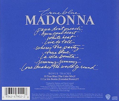 Bild 2: Madonna, True blue (1986/2001; 11 tracks)