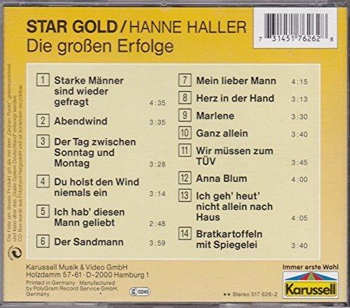 Bild 2: Hanne Haller, Star Gold-Die großen Erfolge (14 tracks, Karussell)