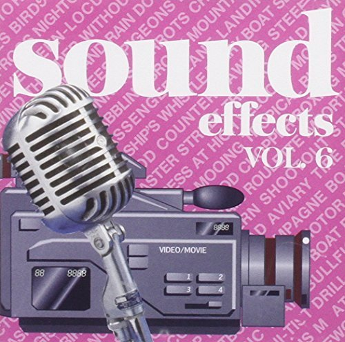 Bild 1: Sound Effects 06-For Movies and Videos, Soccer game, tropical birds, glass window breaking, volcano..