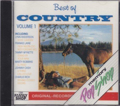 Bild 1: Country-Best of 1 (13 tracks, 1988, CBS), Lynn Anderson, Frankie Laine, Johnny Cash, Charlie Rich, Tammy Wynette..