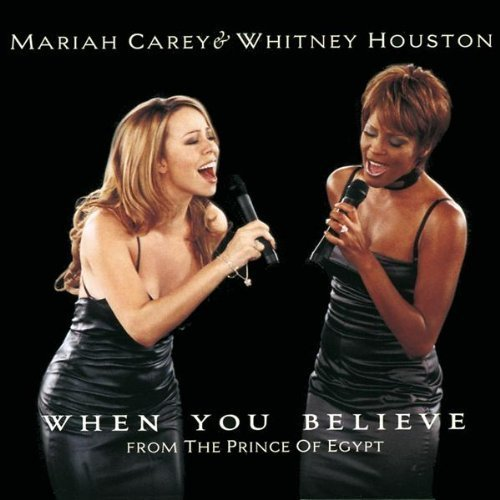 Bild 1: Mariah Carey, When you believe (3 tracks, 1998, cardsleeve, incl. poster, & Whitney Houston)