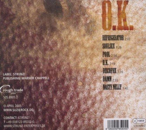 Bild 2: Suzie Rock, O.k. (7 tracks, 2005)
