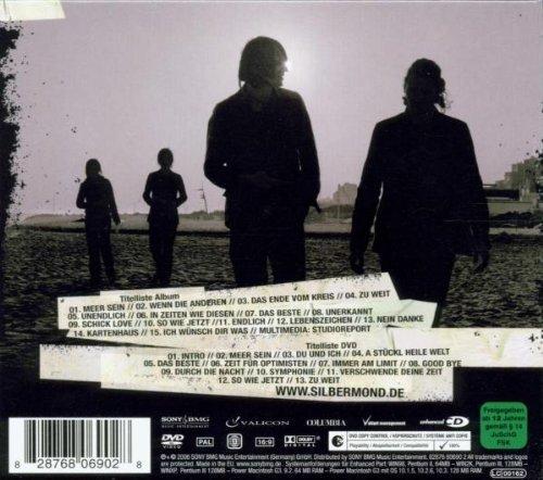 Bild 2: Silbermond, Laut gedacht (2006, CD/DVD, digi)