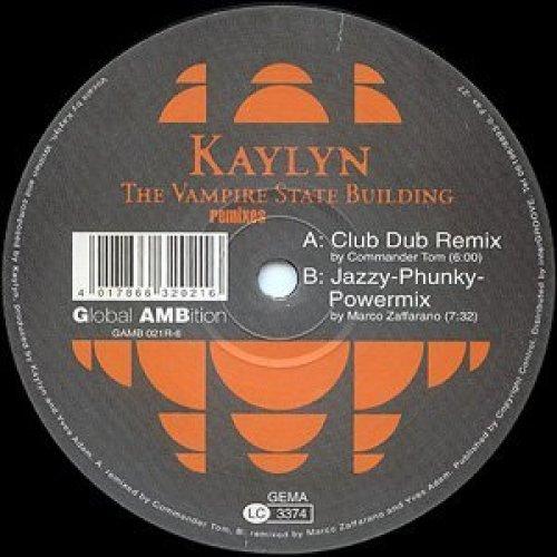 Фото 2: Kaylyn, Vampire state building-Remixes (Club Dub Remix by Commander Tom/Jazzy-Phunky-Powermix by Marco Zaffarano)